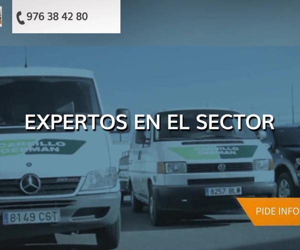 Limpieza de alcantarillados en Zaragoza | Carrillo Germán