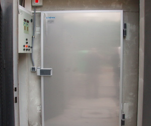 Cámara de congelación