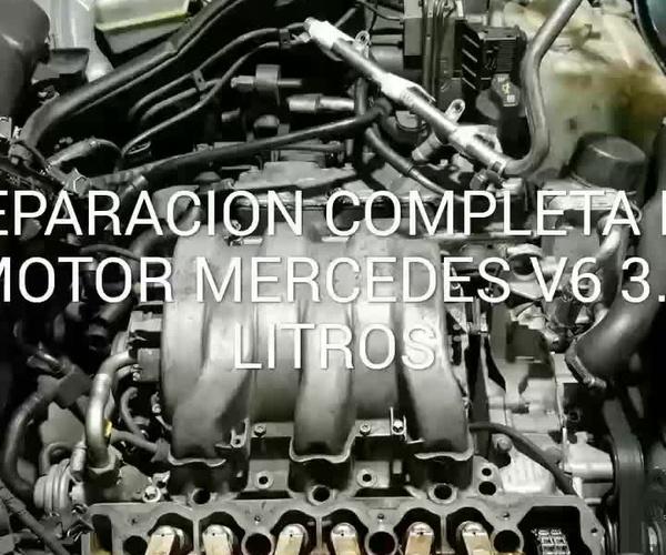 REPARACION COMPLETA DE MOTOR MERCEDES V6 3.2 LITROS