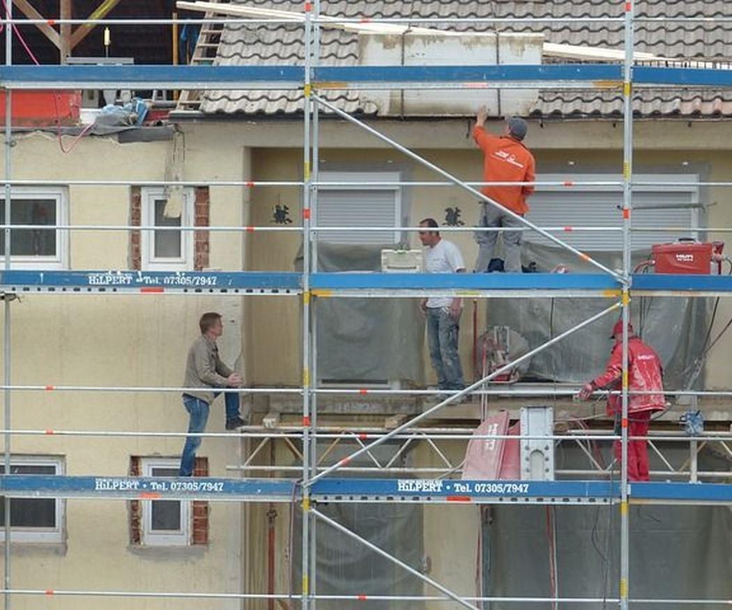 Algunas medidas de seguridad para trabajar en andamios