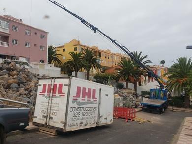 Comienzo de construcción de chalet en El Sauzal