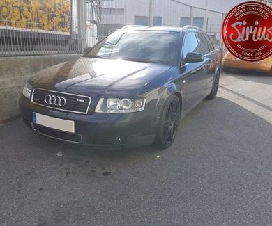 Audi A4 B6 - Suspensión y pantalla