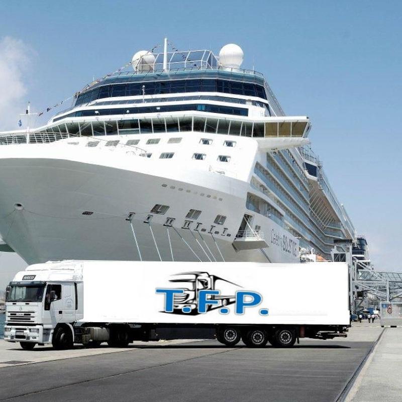 Nuestra flota: Servicios de Transportes T.F.P