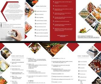 Catering cóctel: Catálogo de La Cocina