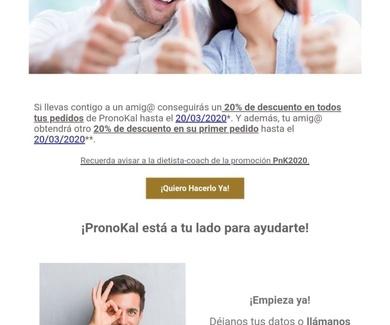 Regala salud y amor con PronoKal