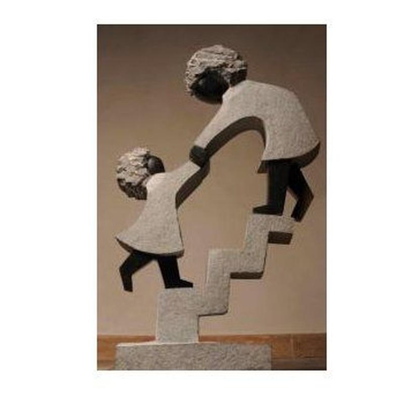 Step by Step, 105 x 55 cm