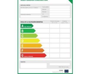Certificados energético de viviendas y locales comerciales