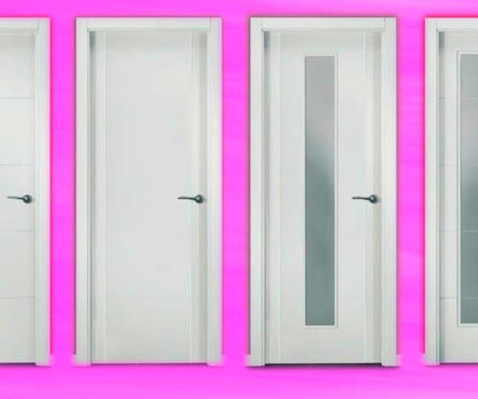 Puertas Interior lacadas en Blanco