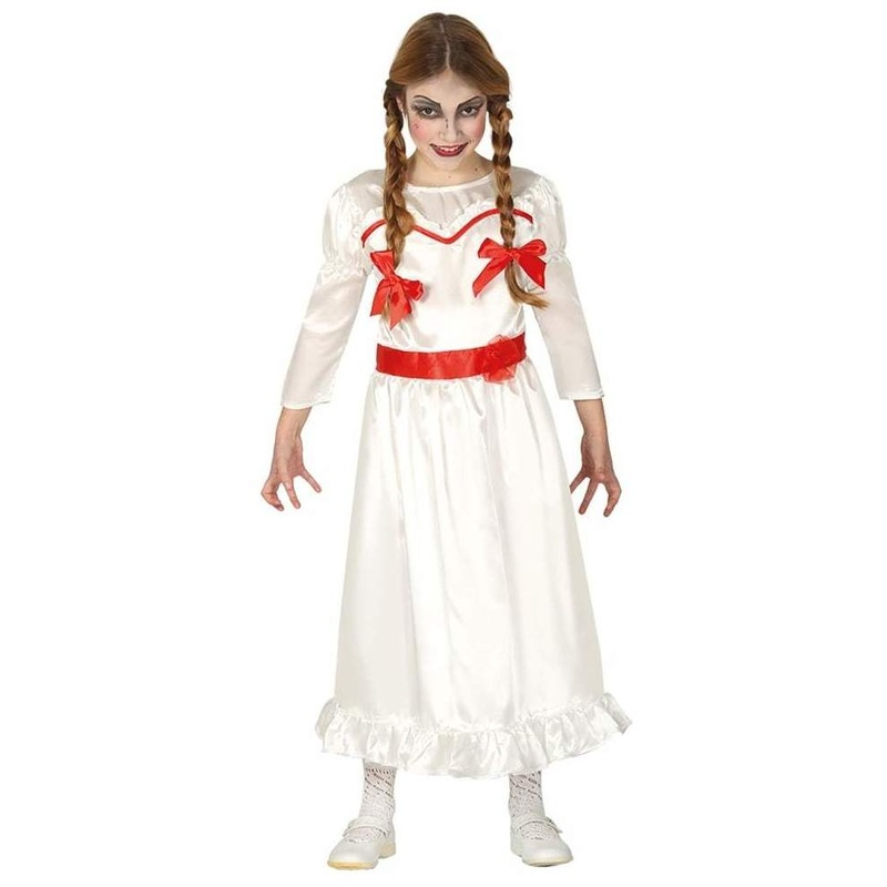 Disfraz muñeca malvada niña