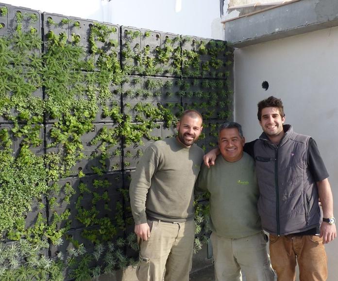Nosotros, junto a Alberto de Buresinnova y el trabajo bien hecho.