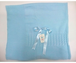 Toquilla bebé azul de Pipos