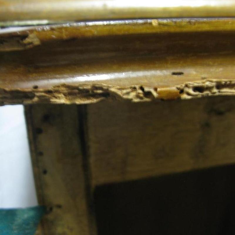 Parte superior del mueble