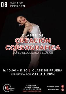 CLASE GRATUITA CREACIÓN COREOGRÁFICA PARA DANZA