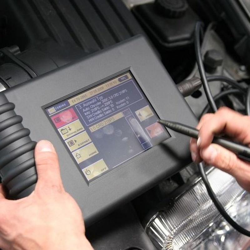 Mecánica de mantenimiento: Servicios de Taller Ponsaroca MP