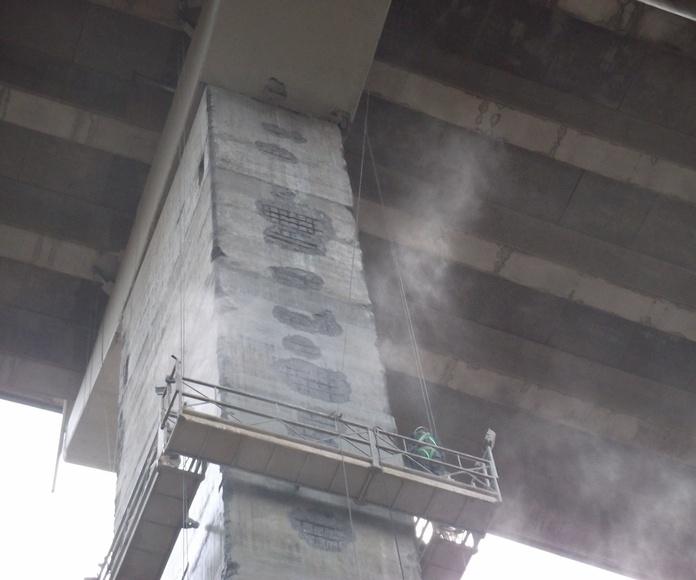 Reparación de hormigón: Servicios de Trabajos Especiales ZUT