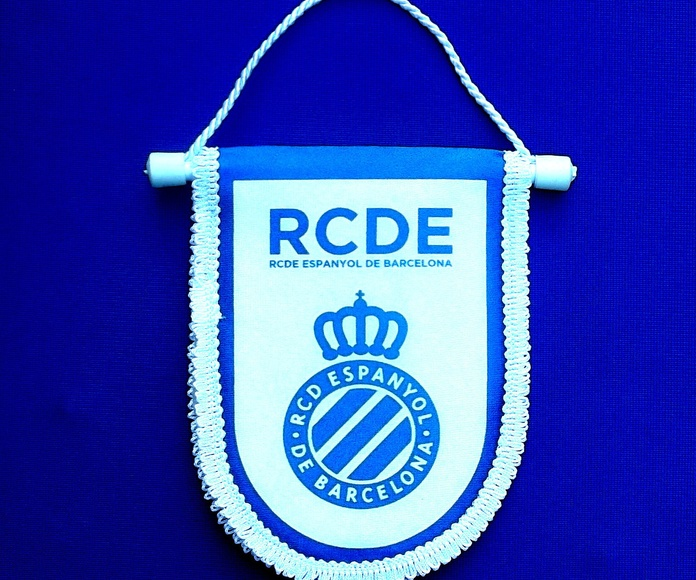 Banderin Futbol RCD Españo