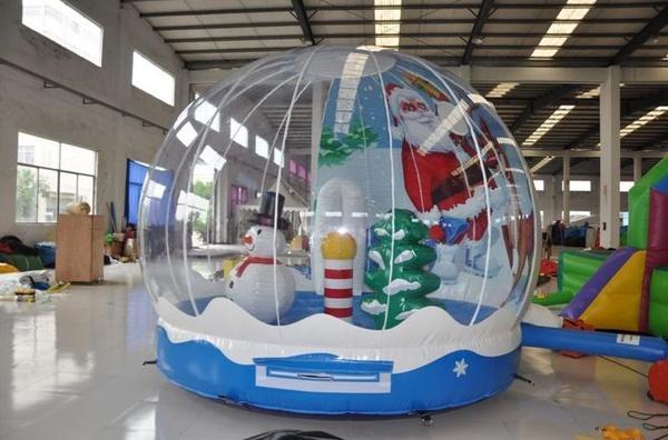 Castillo bola de navidad
