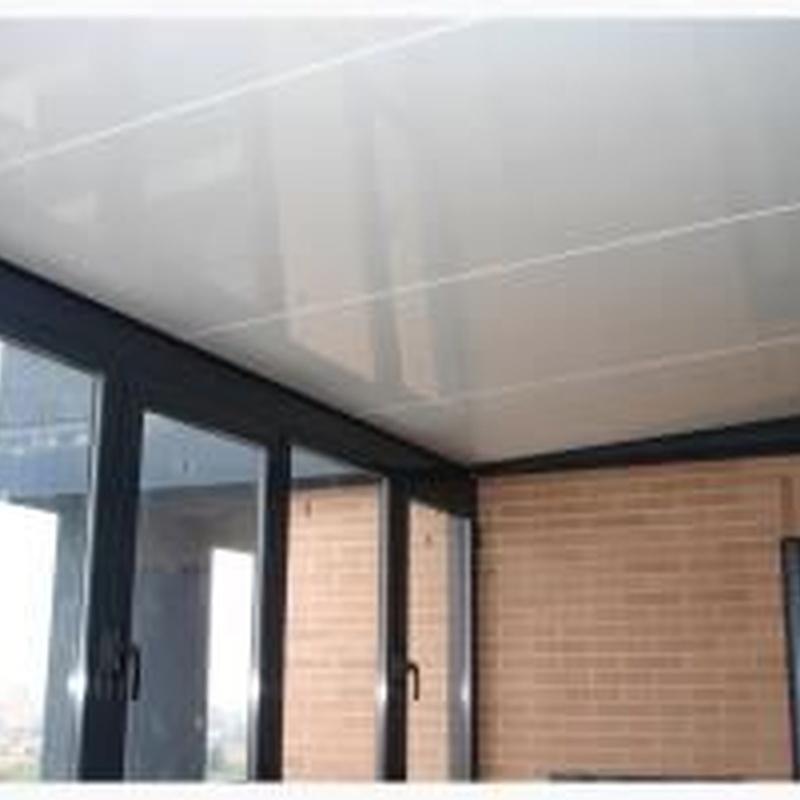 Soluciones para techos y sombras. Paneles autoportantes de aluminio: Productos de Aluminios Quatro