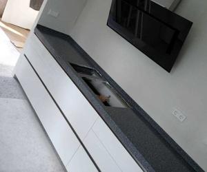 Encimera cocina de terrazo. Esteco Decoración