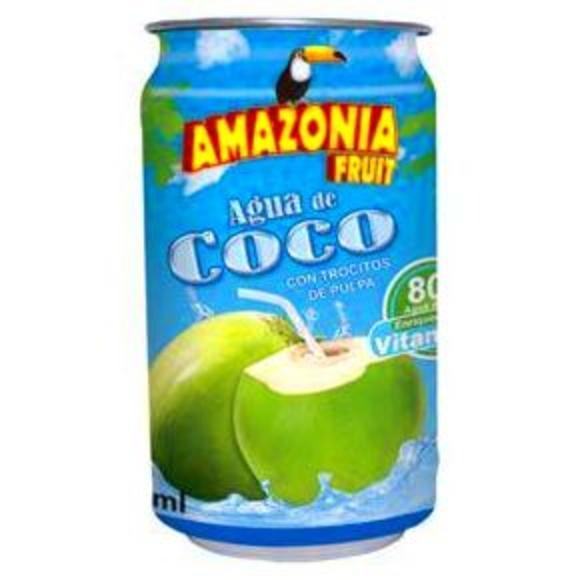 Jugo de coco Amazonia: PRODUCTOS de La Cabaña 5 continentes