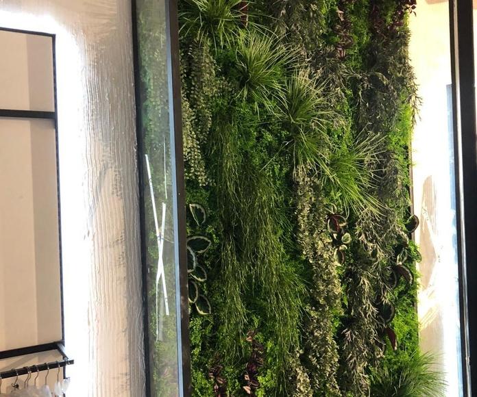jardin vertical artificial Polinesia Granada