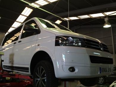 Nueva instalación en Cabal Automoción Bosch Car Service.