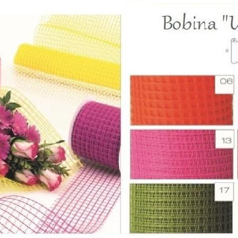 """BOBINA MODELO """"UNOXUNO"""" (TEJIDO RED NO PLASTICO) 530MM x 9MT REF: 0207 PRECIO: 5,60€"""