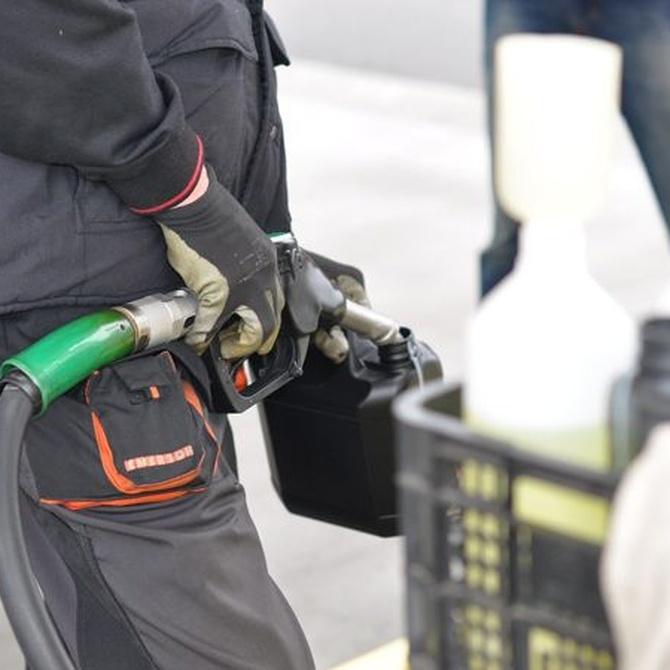 Precauciones al manipular el gasóleo