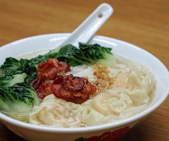 Arroz y tallarines: Carta de Restaurante Tsuruma