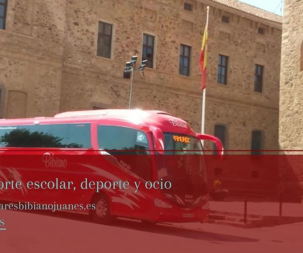 Alquiler de autobuses con conductor en Jaén   Bibiano Juanes