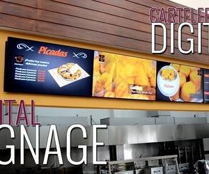 Cartelería digital y de Led