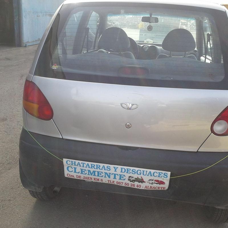 Daewoo Matiz en Desguaces Clemente Albacete