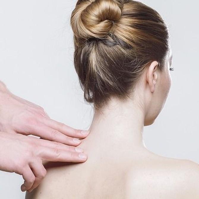 Fisura y protusión de la hernia discal cervical