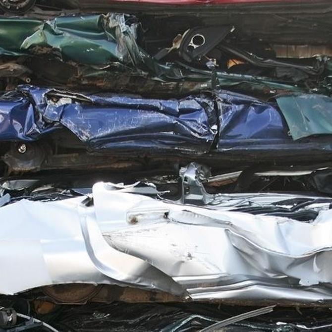 Proceso de reciclaje de metales