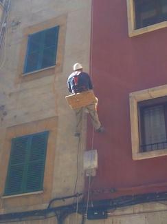 Rehabilitación fachadas Palma de Mallorca