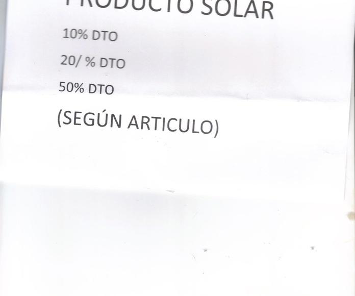 Autobronceadores,filtros solares....etc... corporal y facial