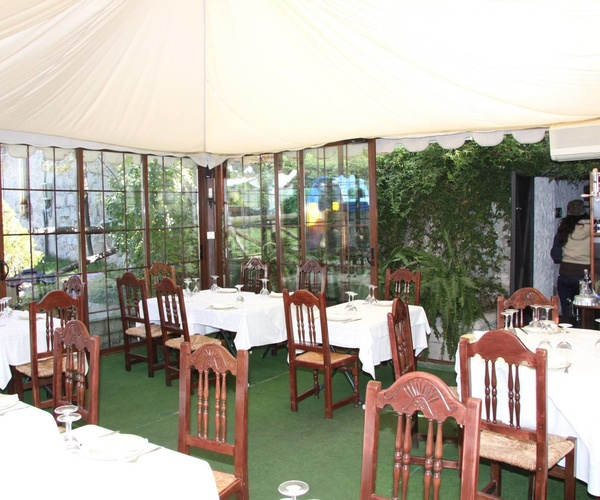 Restaurante Asador para celebraciones en Moralzarzal
