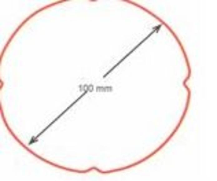 Bajante redonda de100