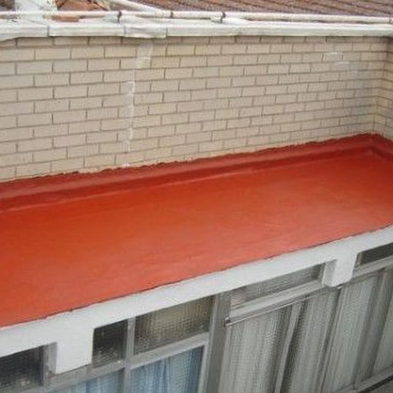 Reparación de terrazas y azoteas