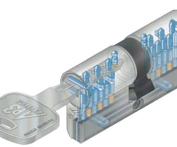Cilindro de seguridad CISA AP3S.