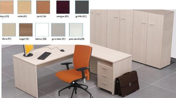 mesa amba en acabado de color haya