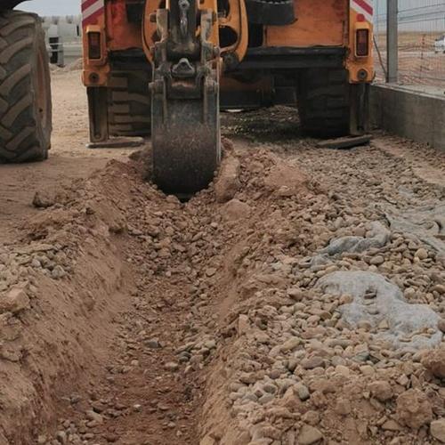 Zanjas y excavaciones en Badajoz