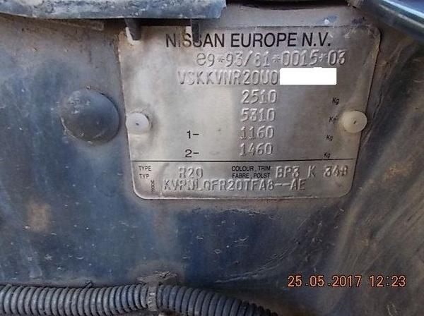 MOTOR NISSAN TERRANO II 2.7 TD AÑO 1998: Catálogo de Desguace Valorización del Automóvil BCL, S.L.