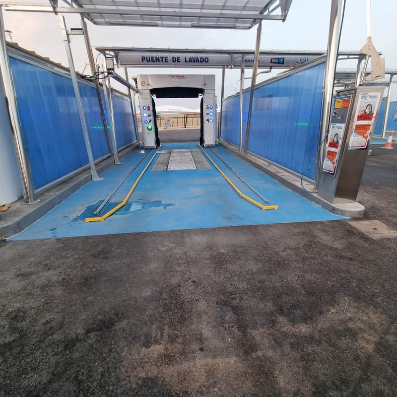 Isletas para túneles de lavado con encofrado de acero inoxidable:  de Icminox