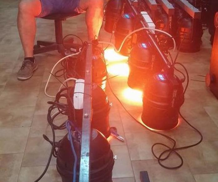 Iluminación espectacular: Servicios   de GranAudio
