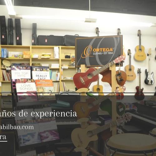 Tiendas de música en Bilbao | Pentagrama