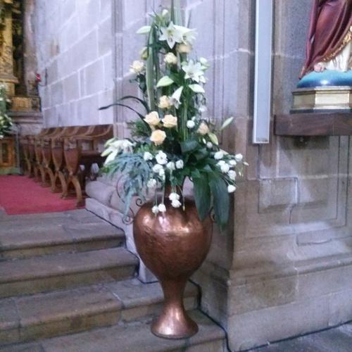 Decoraciones florales Barro