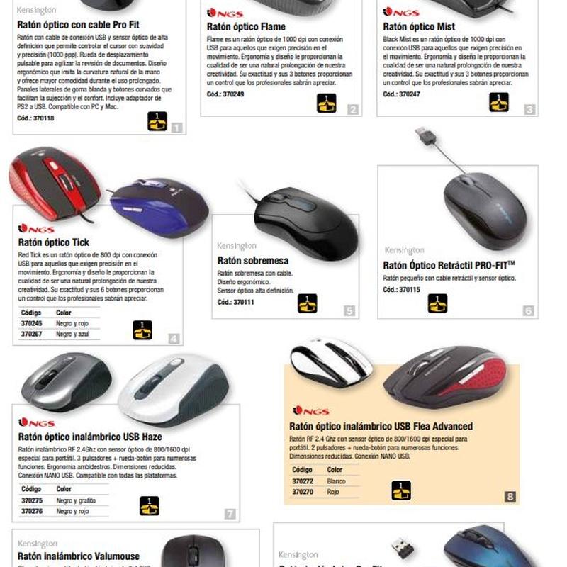 Ergonomía y accesorios: Catalogo de Arpoval