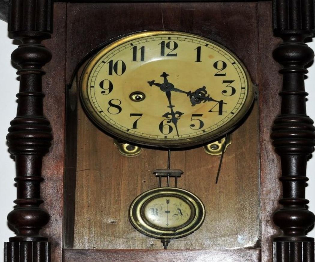 El funcionamiento de un reloj de péndulo