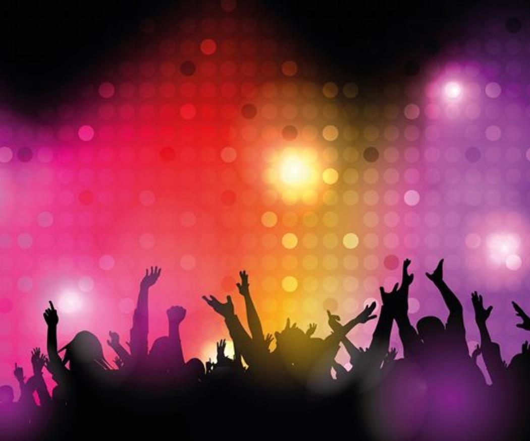 Decibelios en un festival de rock o en la discoteca
